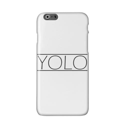 Modern YOLO Solid White Hard Case Cover for Apple iPhone 6 PLUS/6S PLUS (5.5 inch)