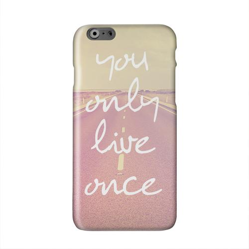 Open Road YOLO Solid White Hard Case Cover for Apple iPhone 6 PLUS/6S PLUS (5.5 inch)