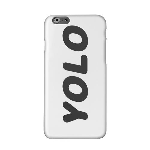 Rounded YOLO Solid White Hard Case Cover for Apple iPhone 6 PLUS/6S PLUS (5.5 inch)
