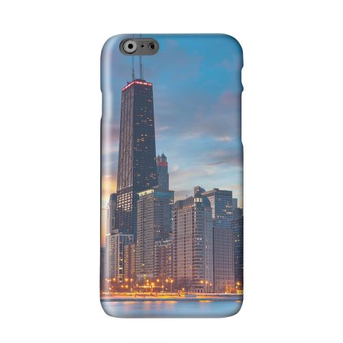 Chicago Solid White Hard Case Cover for Apple iPhone 6 PLUS/6S PLUS (5.5 inch)