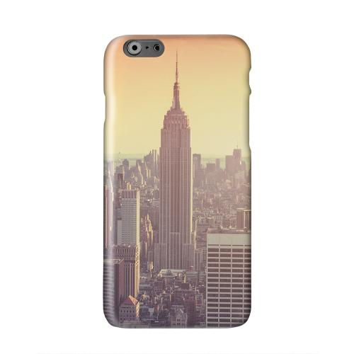 New York Solid White Hard Case Cover for Apple iPhone 6 PLUS/6S PLUS (5.5 inch)