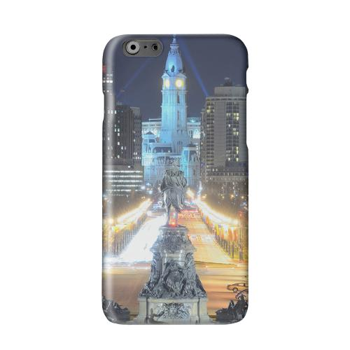Philadelphia Solid White Hard Case Cover for Apple iPhone 6 PLUS/6S PLUS (5.5 inch)