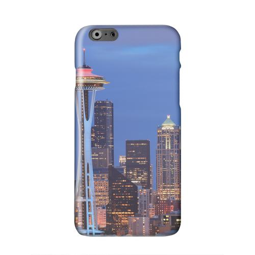 Seattle Solid White Hard Case Cover for Apple iPhone 6 PLUS/6S PLUS (5.5 inch)