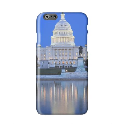 Washington D.C. Solid White Hard Case Cover for Apple iPhone 6 PLUS/6S PLUS (5.5 inch)