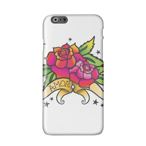 Amor Rose Solid White Hard Case Cover for Apple iPhone 6 PLUS/6S PLUS (5.5 inch)