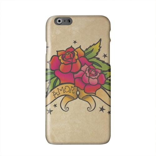 Armor Rose Grunge Solid White Hard Case Cover for Apple iPhone 6 PLUS/6S PLUS (5.5 inch)