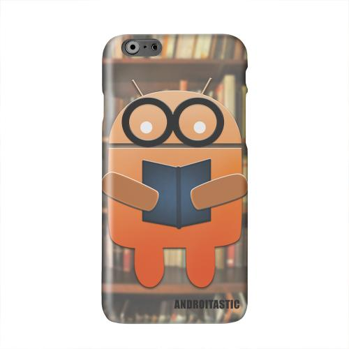Studious Orange Robot Solid White Hard Case Cover for Add Apple iPhone 6 PLUS/6S PLUS (5.5 inch)
