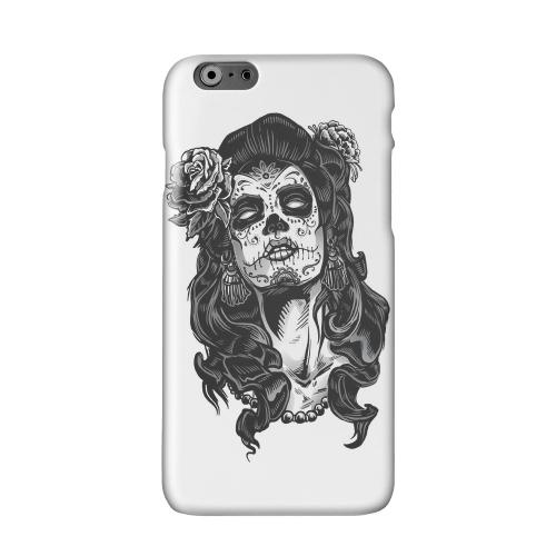 Day of the Dead Girl on White Solid White Hard Case Cover forAdd Apple iPhone 6 PLUS/6S PLUS (5.5 inch)