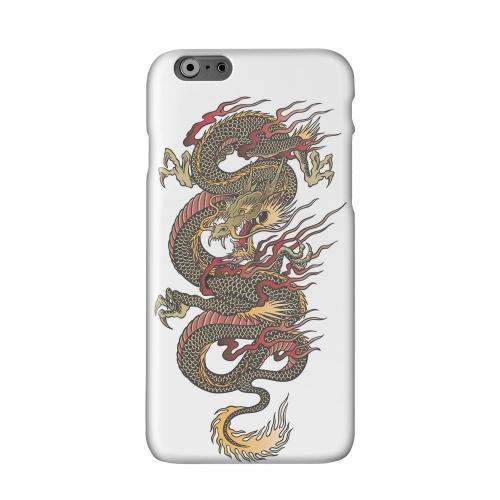 Dragon on White Solid White Hard Case Cover for Add Apple iPhone 6 PLUS/6S PLUS (5.5 inch)