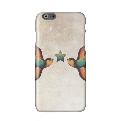 Dual Swallow Star Solid White Hard Case Cover for Add Apple iPhone 6 PLUS/6S PLUS (5.5 inch)