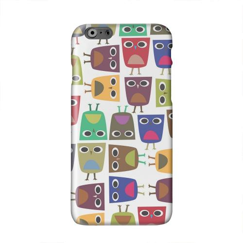 Quadrilateral Owl Configuration Solid White Hard Case Cover for Add Apple iPhone 6 PLUS/6S PLUS (5.5 inch)