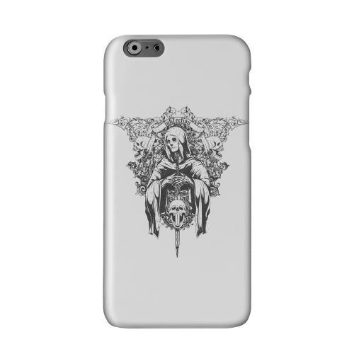 Inkfection on Gray Solid White Hard Case Cover for Add Apple iPhone 6 PLUS/6S PLUS (5.5 inch)