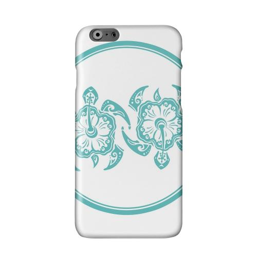 Aqua Island Turtle Duo Solid White Hard Case Cover for Add Apple iPhone 6 PLUS/6S PLUS (5.5 inch)
