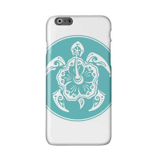 Aqua Island Turtle Solo Solid White Hard Case Cover for Add Apple iPhone 6 PLUS/6S PLUS (5.5 inch)