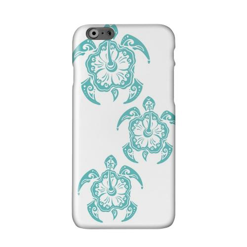 Aqua Island Turtle Trail Solid White Hard Case Cover for Apple iPhone 6 PLUS/6S PLUS (5.5 inch)