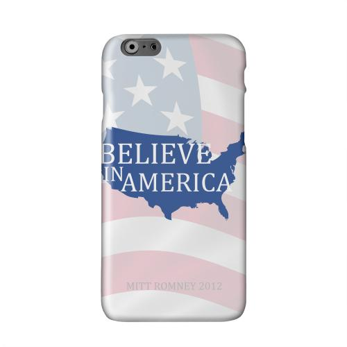 Believe in America Solid White Hard Case Cover for Apple iPhone 6 PLUS/6S PLUS (5.5 inch)