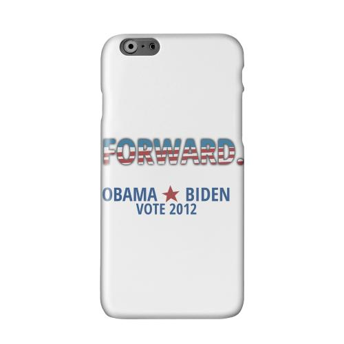 Obama. Biden. Forward. Solid White Hard Case Cover for Apple iPhone 6 PLUS/6S PLUS (5.5 inch)