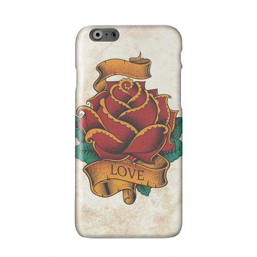 Love Rose Solid White Hard Case Cover for Apple iPhone 6 PLUS/6S PLUS (5.5 inch)