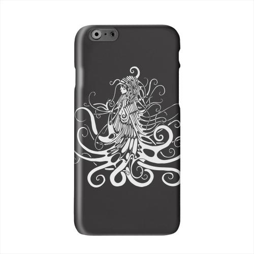 White Medusa on Black Solid White Hard Case Cover for Apple iPhone 6 PLUS/6S PLUS (5.5 inch)