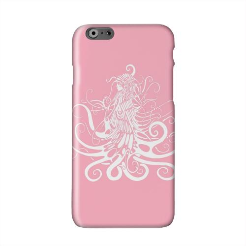 White Medusa on Pink Solid White Hard Case Cover for Apple iPhone 6 PLUS/6S PLUS (5.5 inch)