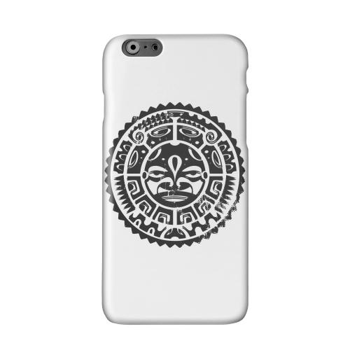 Polynesian Face Solid White Hard Case Cover for Apple iPhone 6 PLUS/6S PLUS (5.5 inch)