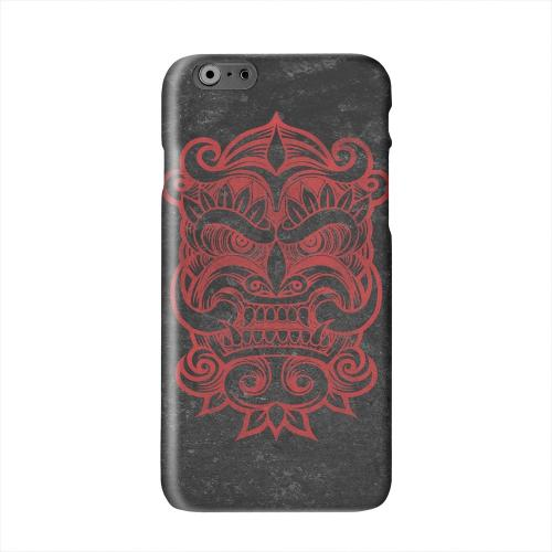 Red Devil Mask Solid White Hard Case Cover for Apple iPhone 6 PLUS/6S PLUS (5.5 inch)