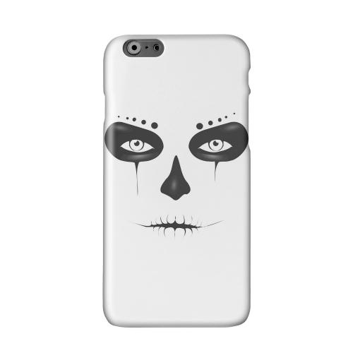 Skull Face Solid White Hard Case Cover for Apple iPhone 6 PLUS/6S PLUS (5.5 inch)