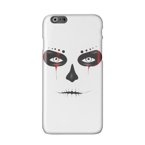 Skull Face Blood Solid White Hard Case Cover for Apple iPhone 6 PLUS/6S PLUS (5.5 inch)