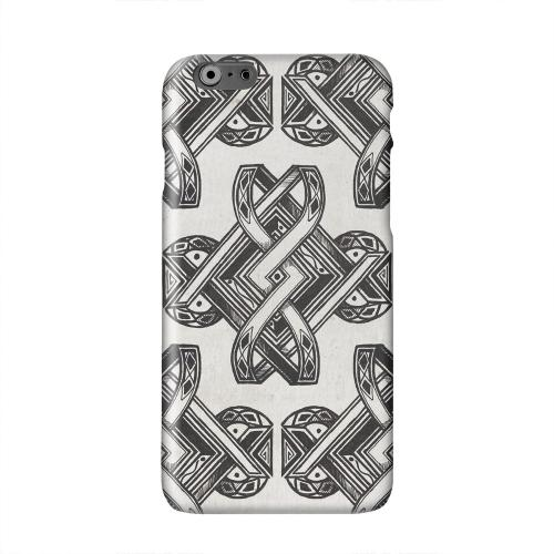 Tribal Art Solid White Hard Case Cover for Apple iPhone 6 PLUS/6S PLUS (5.5 inch)