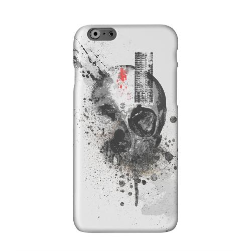 Deconstruction Solid White Hard Case Cover for Apple iPhone 6 Plus