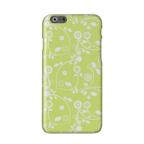Floral 2 Tender Shoots Solid White Hard Case Cover for Apple iPhone 6 PLUS/6S PLUS (5.5 inch)