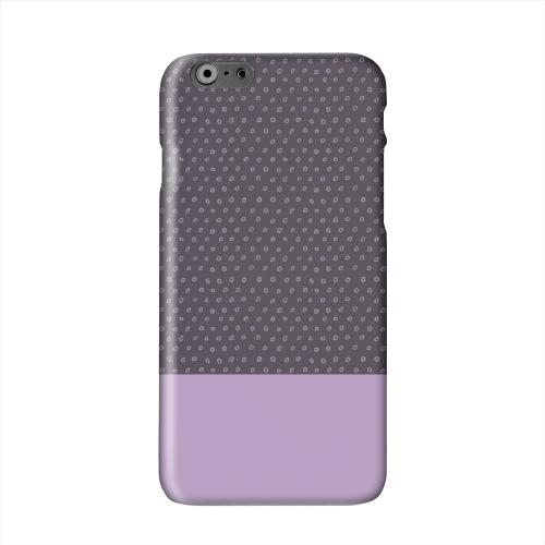 Little Circle Dots African Violet Solid White Hard Case Cover for Apple iPhone 6 PLUS/6S PLUS (5.5 inch)