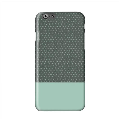 Little Circle Dots Grayed Jade Solid White Hard Case Cover for Apple iPhone 6 PLUS/6S PLUS (5.5 inch)