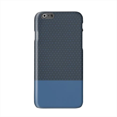Little Circle Dots Monaco Blue Solid White Hard Case Cover for Apple iPhone 6 PLUS/6S PLUS (5.5 inch)