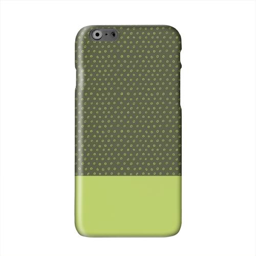 Little Circle Dots Tender Shoots Solid White Hard Case Cover for Apple iPhone 6 PLUS/6S PLUS (5.5 inch)