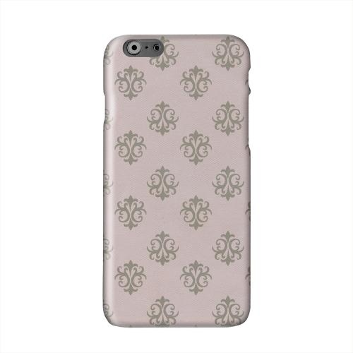 Ornamental African Violet Solid White Hard Case Cover for Apple iPhone 6 PLUS/6S PLUS (5.5 inch)