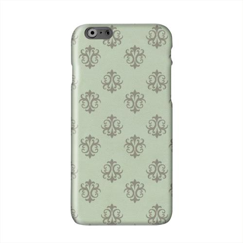 Ornamental Grayed Jade Solid White Hard Case Cover for Apple iPhone 6 PLUS/6S PLUS (5.5 inch)