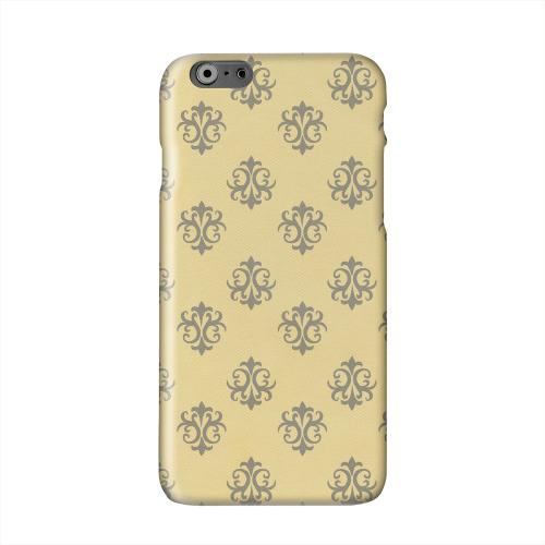 Ornamental Lemon Zest Solid White Hard Case Cover for Apple iPhone 6 PLUS/6S PLUS (5.5 inch)