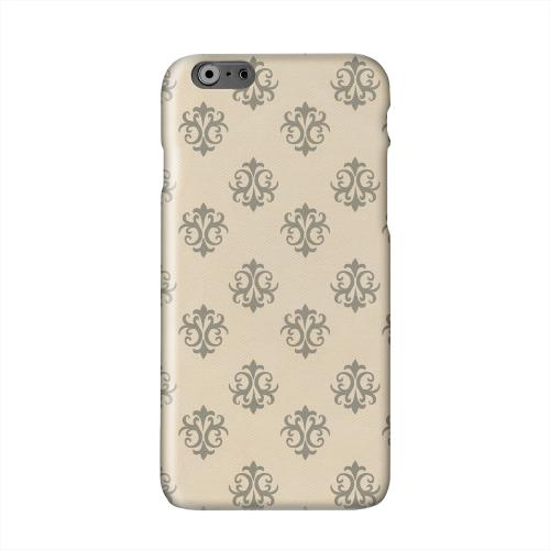 Ornamental Linen Solid White Hard Case Cover for Apple iPhone 6 PLUS/6S PLUS (5.5 inch)