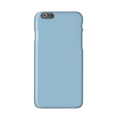 S13 Pantone Dusk Blue Solid White Hard Case Cover for Apple iPhone 6 PLUS/6S PLUS (5.5 inch)