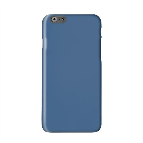 S13 Pantone Monaco Blue Solid White Hard Case Cover for Apple iPhone 6 PLUS/6S PLUS (5.5 inch)