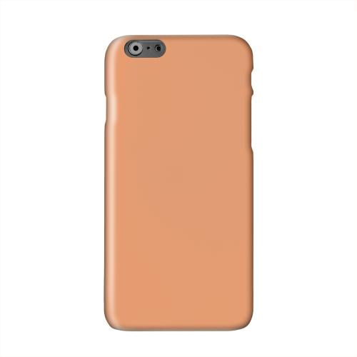 S13 Pantone Nectarine Solid White Hard Case Cover for Apple iPhone 6 PLUS/6S PLUS (5.5 inch)