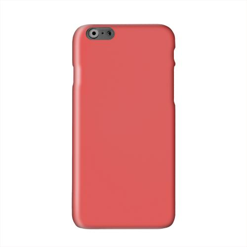S13 Pantone Poppy Red Solid White Hard Case Cover for Apple iPhone 6 PLUS/6S PLUS (5.5 inch)