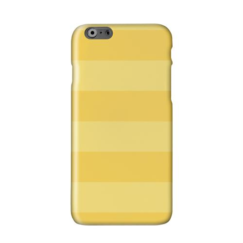 Stripes Lemon Zest Solid White Hard Case Cover for Apple iPhone 6 PLUS/6S PLUS (5.5 inch)