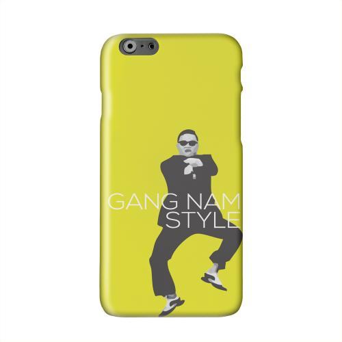 Yellow Gangnam Style Solid White Hard Case Cover for Apple iPhone 6 PLUS/6S PLUS (5.5 inch)