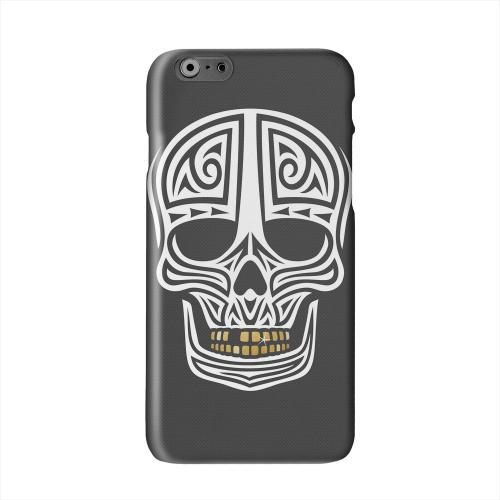 Rapero Muerto on Dark Mesh Dot Solid White Hard Case Cover for Apple iPhone 6 PLUS/6S PLUS (5.5 inch)