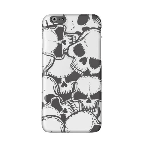 Doom Skulls Solid White Hard Case Cover for Apple iPhone 6 PLUS/6S PLUS (5.5 inch)