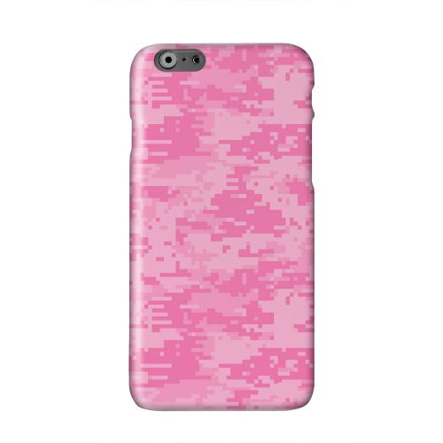 Pink Digital Camouflage Solid White Hard Case Cover for Apple iPhone 6 PLUS/6S PLUS (5.5 inch)