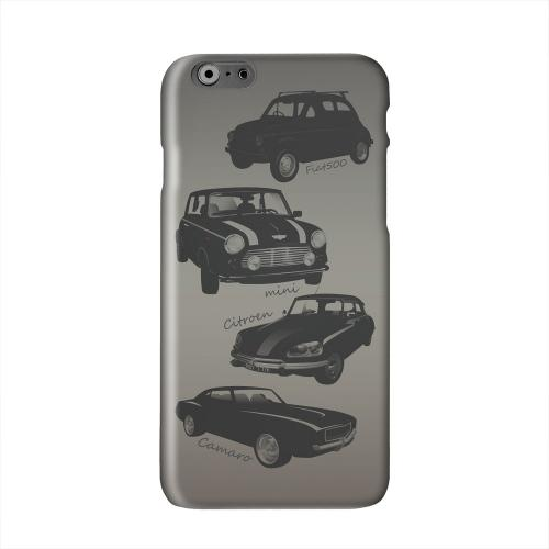 Classic Cars Fiat, Mini, Citroen, & Camaro Solid White Hard Case Cover for Apple iPhone 6 PLUS/6S PLUS (5.5 inch)