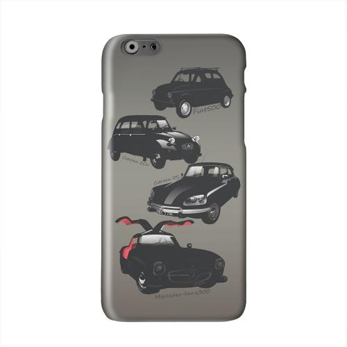 Classic Euro Cars Fade Solid White Hard Case Cover for Apple iPhone 6 PLUS/6S PLUS (5.5 inch)
